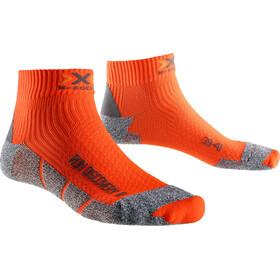 X-Socks M's Run Discovery Socks Orange Sunshine/Grey Mouline